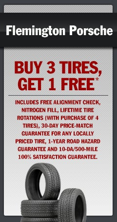 Buy 3 Tires Get 1 Free Flemington Porsche Specials Flemington Nj